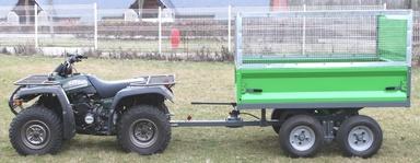 Remorque pour quad utilitaire – Tracteur agricole